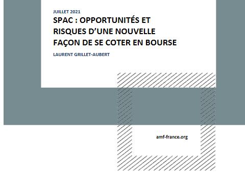 L'AMF présente les opportunités et les risques des SPAC